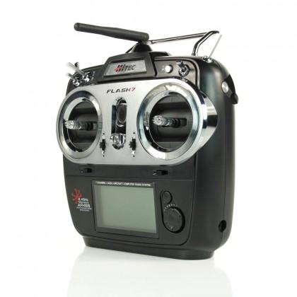 Hitec Flash 7 Tx 7ch Rx 2.4GHz AFHSS/SLT 4096 Res. 2210505
