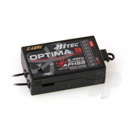 Hitec Optima 9 2.4GHz AFHSS Telemetric 9 Channel Full Range Receiver 28425