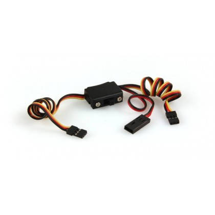 Hitec Switch Harness + Charge Lead 54401