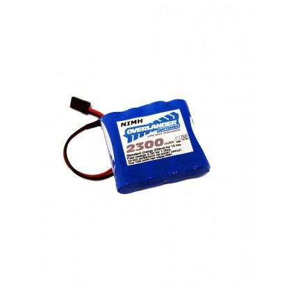Overlander LSD AA 2300mAh 4.8V Flat NiMH Battery - 2380