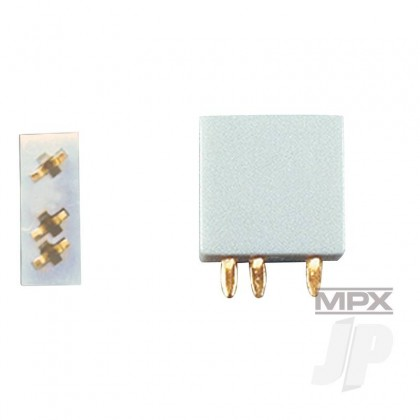 Multiplex 3-Pin Socket 5pcs (MULTIPLEX) 85221 2585221