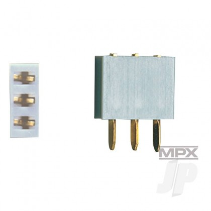 Multiplex 3-Pin Socket 5pcs (MULTIPLEX) 85225 2585225