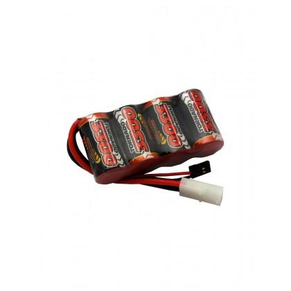 Overlander NiMH Battery Pack Sub C 3300mah 4.8v RX - 2589