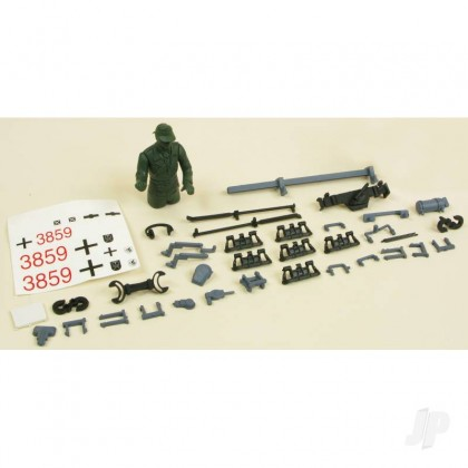 Henglong Panzer IV F2 Decals/Driver/Fittings (Grey) 4401108