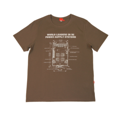 Powerbox T-Shirt - Light Brown XX-Large