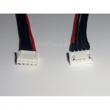 JST-XH Extension 0.5m - 4S 22AWG silicone wire