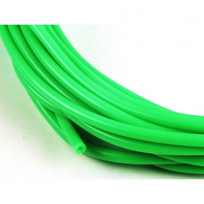 J Perkins 2mm (3/32) Silicone Fuel Tube Neon Green 1m 5508540