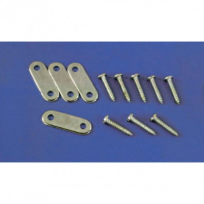 DB158 STEEL U/C CLAMPS (4x12) from Dubro