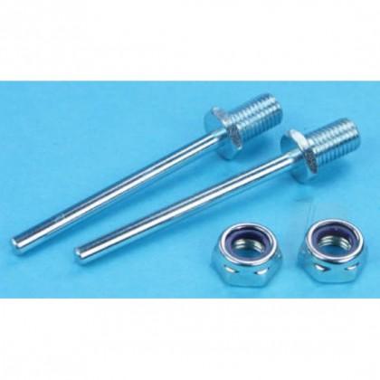 "Dubro 2"" x 5/32"" (51 x 4mm) Spring Steel Axle Shafts (2) DB248 011859002480"