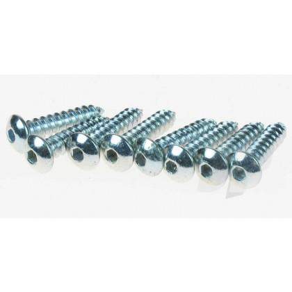 "Dubro 4 x 1"" Button Head Screw (8 Pack) DB529"