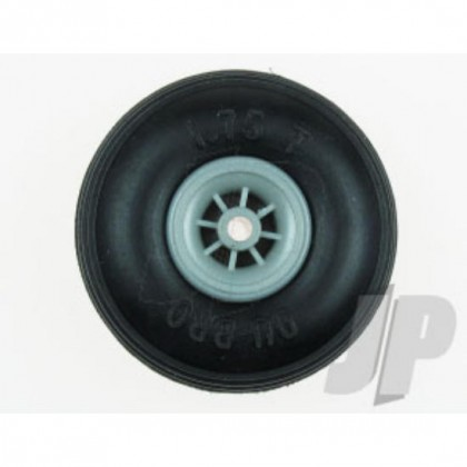 """3-1/2"""" Dubro Treaded Low Bounce Wheels (2 Pack) DB350T"""