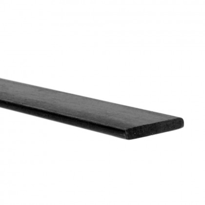 J Perkins 1.2x7.0mm 1m Carbon Fibre Batten/Strip 5518758