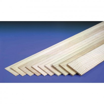 J Perkins 1/4in 36x3in Sheet Spruce 5520509