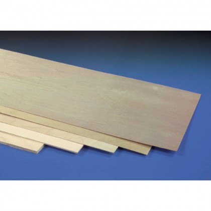 J Perkins 0.4mm (1/64in) 1200x300mm Ply 5521145