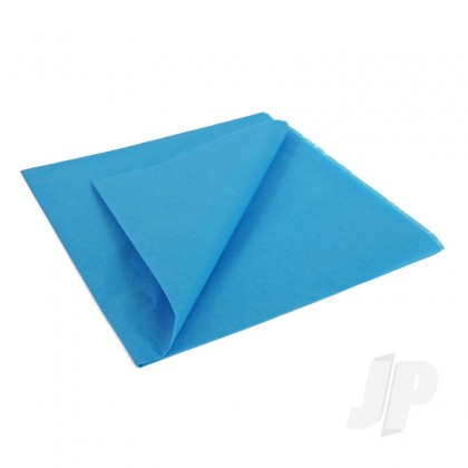 JP Mediterranean Blue Lightweight Tissue Covering Paper, 50x76cm, (5 Sheets) 5525209