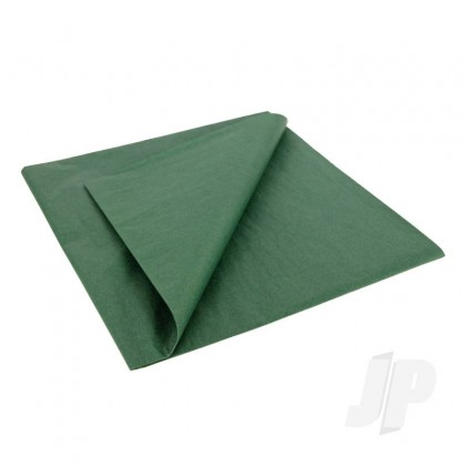 JP Dark Green Lightweight Tissue Covering Paper, 50x76cm, (5 Sheets) 5525213
