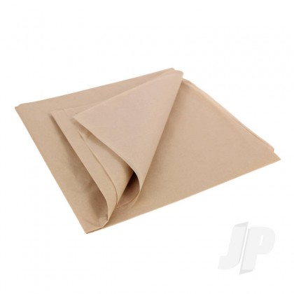 JP Vintage Tan Lightweight Tissue Covering Paper, 50x76cm, (5 Sheets) 5525219