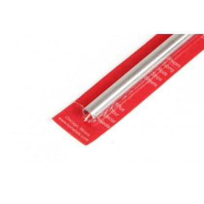 K&S 9mm x .76mm Wall Aluminium Round Tube 300mm 9811