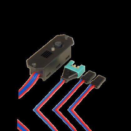 PowerBox DigiSwitch Electronic Switch / Linear Regulator MPX/JR+JR 6420