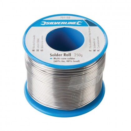 Silverline Solder Roll 250g 701153