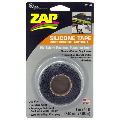 ZAP Silicone Waterproof Self-Amalgamating Tape PT101
