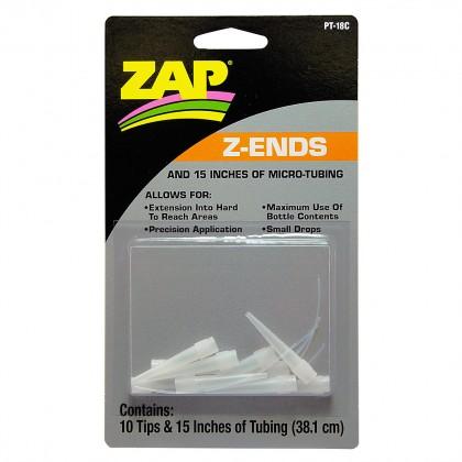 ZAP Z-Ends Tips & Micro Dropper Tube (10 Pack) PT18C