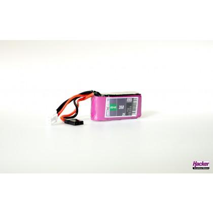 Hacker TopFuel ECO-RX 3S 350mAh 25C LiPo Battery