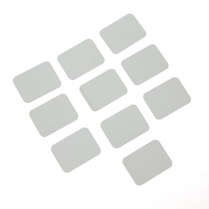 MacGregor CA Hinges (White) L25 x W20 x H0.3mm (10) ACC0090