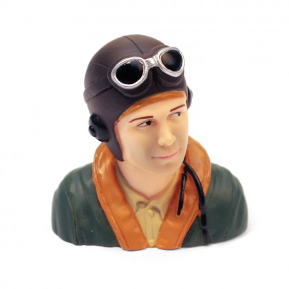 MacGregor 1/6th Scale WWII Pilot Bust ACC0106