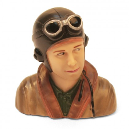 MacGregor 1/9th Scale WWII Pilot Bust ACC0107