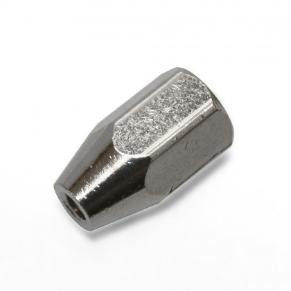 MacGregor Brass Spinner Nut M8 x 1.25-M4 D10 ACC0159