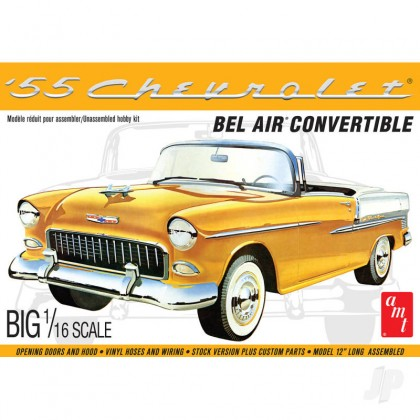 AMT 1955 Chevy Bel Air Convertible AMT1134