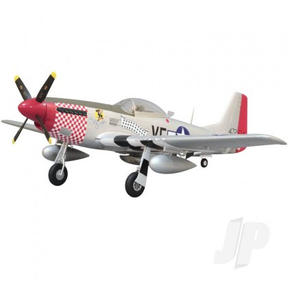 Arrows Hobby P-51 Mustang PNP with Retracts (1100mm) ARR004P