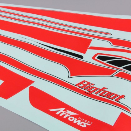 Arrows Hobby Decal Set (Bigfoot) ARRAI116