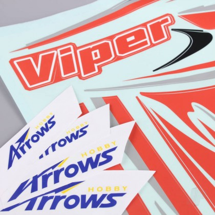 Arrows Hobby Decal Sheet (for Viper) ARRAL109