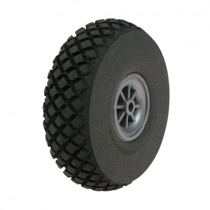 Dubro 2.5 ins Diamond Lite Wheels (64mm) (2pcs) DUB250DL