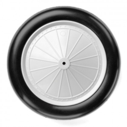 Dubro 9.33 in Vintage Wheels (237mm) (2pcs) DUB933V