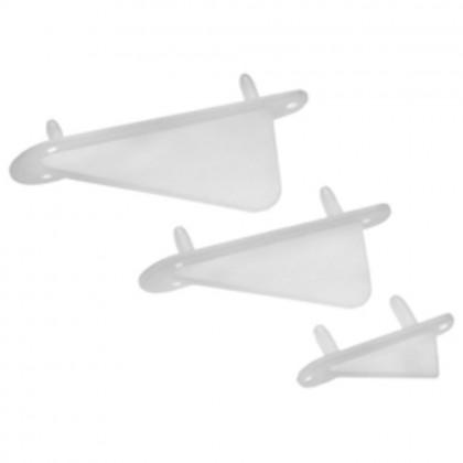 Dubro Wing Tip & Tail Skid (1.1/4ins) (2pcs) DUB990