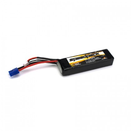Dynamite 11.1volt 1400mah 3S 30C LiPo with Long EC3 connector for all Minis DYN1477