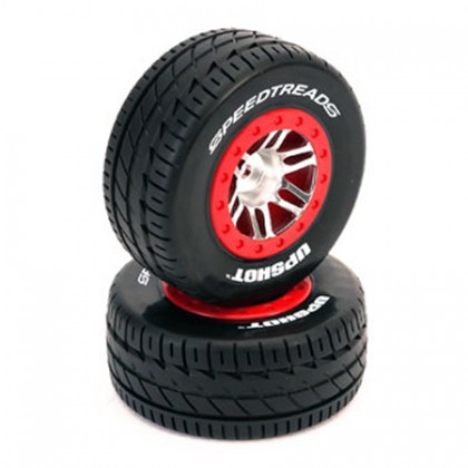 Dynamite ECX/Traxxas Slash 4x4 Speed Treads Front/Rear Prowler SC Tyre (2) DYN5133
