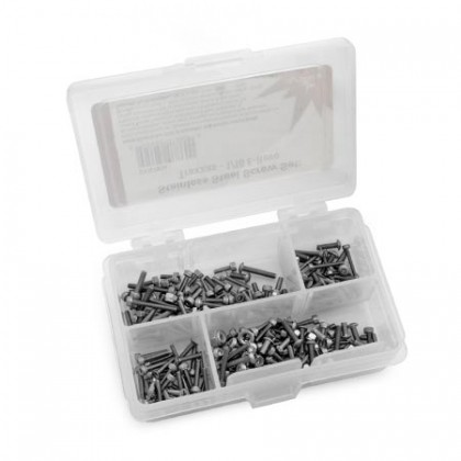 Dynamite Traxxas 1/16 E-Revo Stainless Steel Screw Set DYN7904
