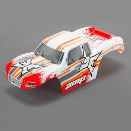 ECX Body White/Orange: 1:10 AMP MT ECX230016