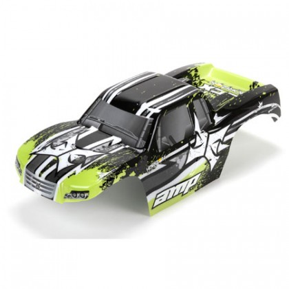 ECX Body Black/Green: 1:10 AMP MT ECX230017