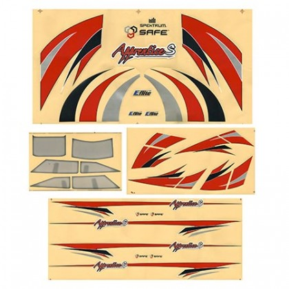 E-Flite Apprentice ESP 15e Decal Set EFL310012