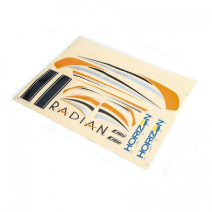 E-Flite Decal Sheet: Radian BNF Basic EFL4703