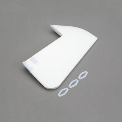 E-Flite Rudder: NIGHT visionaire BNF Basic EFL7125