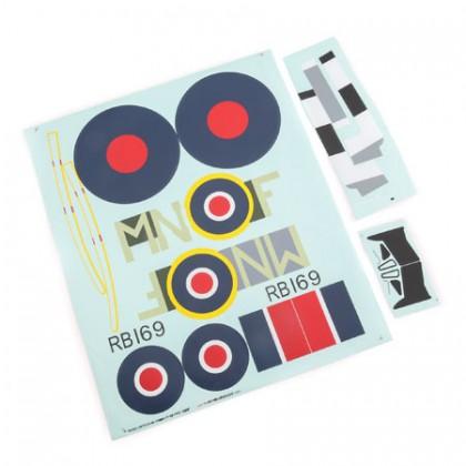 E-Flite Decal Sheet: Spitfire Mk XIV 1.2M EFL8606