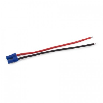 E-Flite EC2 Battery Connector with 4inch 18awg Wire EFLAEC205