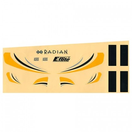 E-Flite Ultra Micro Radian Decal Sheet EFLU2901