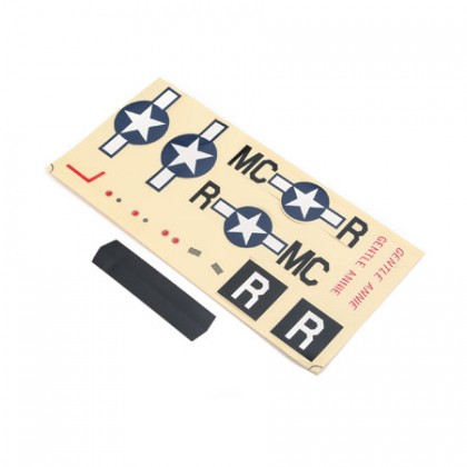 E-Flite Decal Sheet: UMX P-51 BL EFLU3307
